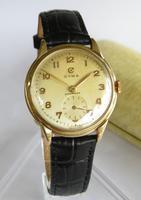 Gents 9ct Gold Cyma Wrist Watch, 1954 (2 of 6)