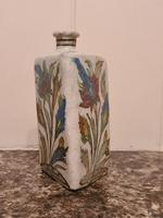 18th Century Antique Iznik Stoneware Vase Flask Bottle Persian Ottoman Islamic (8 of 12)