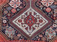Antique Qashqai Rug 1.47m x 1.04m (6 of 17)