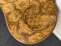 Queen Anne Burr Walnut Kidney Dressing Table (11 of 17)