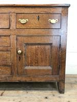 Antique 18th Century Oak Sideboard (4 of 7)