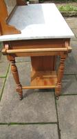 Pretty Marble Top Washstand (2 of 12)