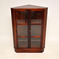 Danish Rosewood Vintage Corner Cabinet (2 of 12)