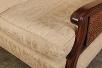 Mahogany 3 Seater Bergere Sofa (6 of 9)