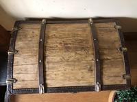 Antique Domed Wooden Sea Trunk c.1850 (3 of 13)