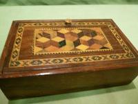 Genuine Tunbridge Ware Box. 100% Original. c1875 (8 of 9)