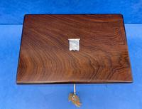Victorian Rosewood Box with Mother of Pearl Inlay (6 of 11)
