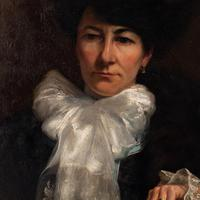 Paul-Antoine Hallez, Portrait of Lady with Umbrella (9 of 10)