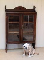 Oak Glazed Bookcase (6 of 10)