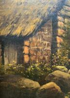 H Sinclair Jackson Superb 19th Century Watermill Landscape Oil Painting (9 of 14)