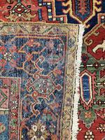 Antique Heriz Carpet 3.20m x 2.37m (10 of 10)