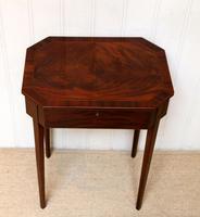 Regency Mahogany Work Table c.1820 (5 of 10)