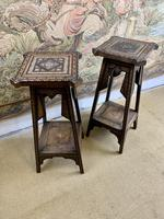 Pair of 19th Century Inlaid Stands (6 of 7)