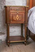 Incredible Mahogany & Brass Napoleon II Double Bed (9 of 10)