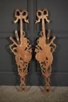 Pair of Decorative Carved Wood Wall Hangings (7 of 7)
