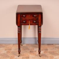 19th Century Mahogany Pembroke Work Table (2 of 13)
