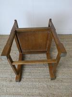 """Oak Armchair by """"Lizardman"""" Yorkshire (7 of 10)"""