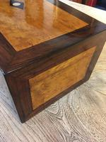 Collectors Box IN Rosewood And Birdseye Maple (2 of 7)