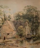 William Charles Goddard Near Saltash Cornish Landscape Painting (5 of 14)