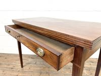 19th Century Mahogany Fold Over Tea Table (8 of 12)