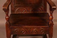 Good 17th Century Wainscot Armchair (3 of 13)