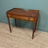 Regency Mahogany Antique Side Table (3 of 6)