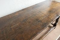 17th Century Oak Refectory Table (3 of 9)