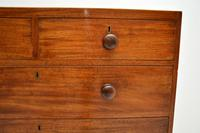 Antique Georgian  Mahogany Chest of Drawers (9 of 11)