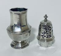Small 18th Century Solid Sterling Silver Sugar Caster Shaker by Thomas Bamford (8 of 13)