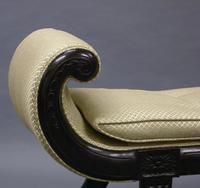 Elegant Ebonised Window Seat (3 of 6)