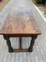 19th Century Oak Refectory Table (4 of 6)