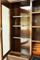 Edwardian Inlaid Rosewood Bookcase (9 of 12)
