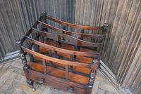 Rosewood Canterbury/ Magazine Rack by Holland & Sons (3 of 6)