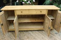 2m Pine Dresser Base Sideboard / Cupboard / TV Stand (9 of 13)