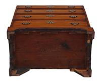 Georgian 19th Century Mahogany Chest of Drawers - Caddy Top c.1800 (7 of 8)