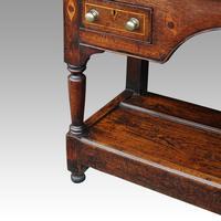 George III Oak Pot Board Dresser Base (7 of 13)