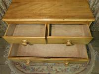 Petite Pine Chest of Drawers from the 1920s (4 of 8)