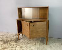 1960's English Mid Century Vintage Tall Sideboard (2 of 5)