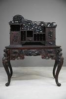 Carved Japanese Meiji Desk (4 of 12)