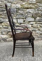 Antique American Armchair with Steamed Bentwood Arms (8 of 14)
