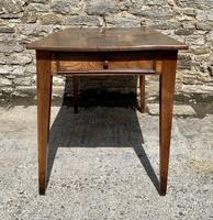 Small Antique French Elm Farmhouse Table (7 of 22)