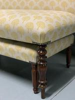 Regency window seat and matching stool (4 of 9)