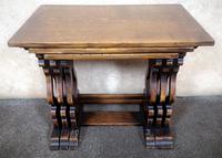 Oak Nest of Three Graduated Tables by GT Rackstraw Furniture (2 of 9)