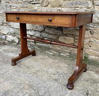 Antique Regency Mahogany Library Table (3 of 14)