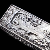 Georgian Solid Silver Snuff Box with Pheasant Scene - Thomas Shaw 1834 (12 of 28)
