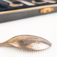 Barker Brothers Silver Set of Spoons Birmingham 1964-65 (2 of 4)