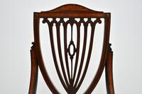 Antique Edwardian Inlaid Mahogany Side Chair (9 of 9)