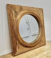 Large Stripped Pine Wall Mirror (2 of 6)