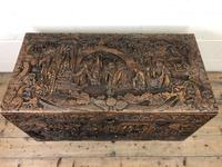 Antique Chinese Camphor Wood Trunk (6 of 14)