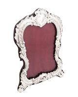 """Antique Victorian Sterling Silver 8"""" Photo Frame 1896 (6 of 10)"""